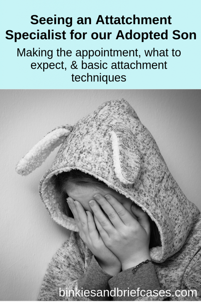 Seeing an attachment specialist