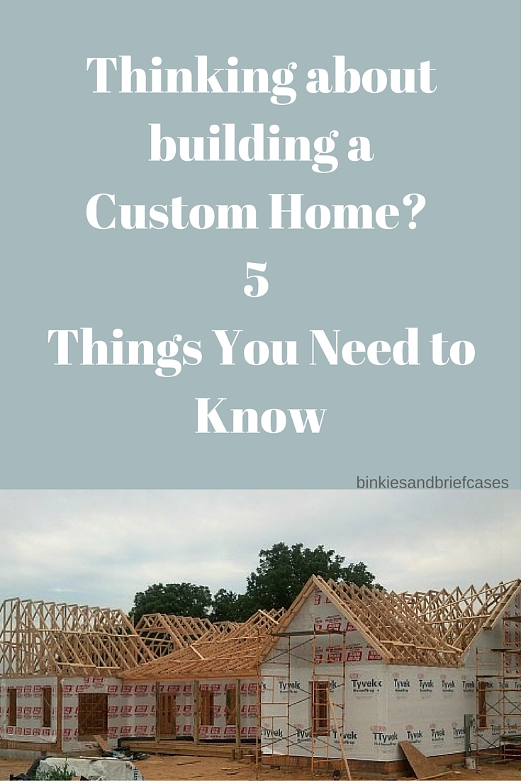 Five things to consider while building a custom home for Things to include when building a house