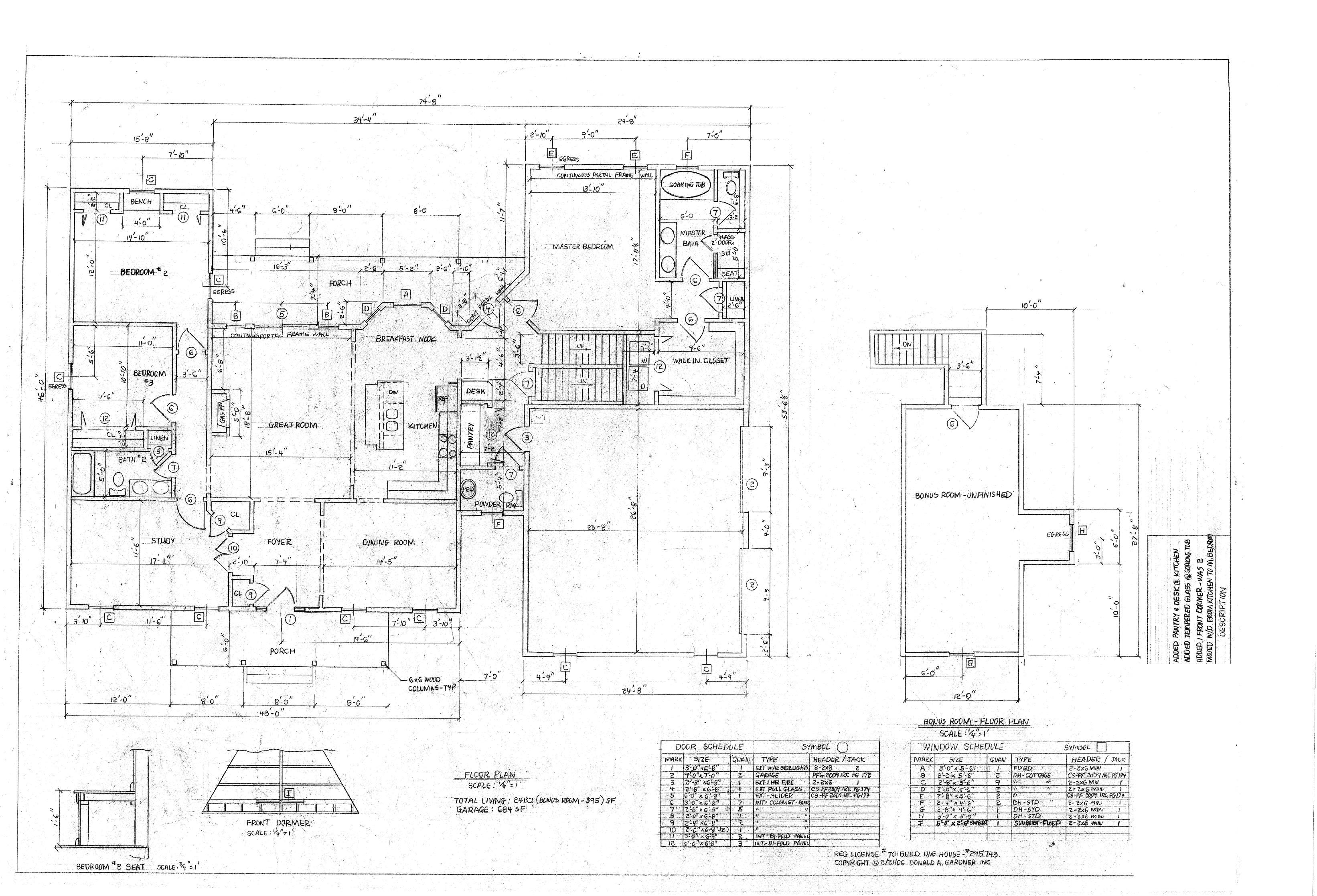 house plans 1
