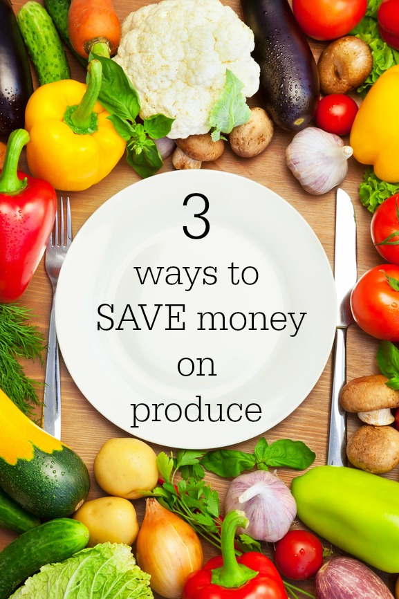Easy ways to save money on produce.