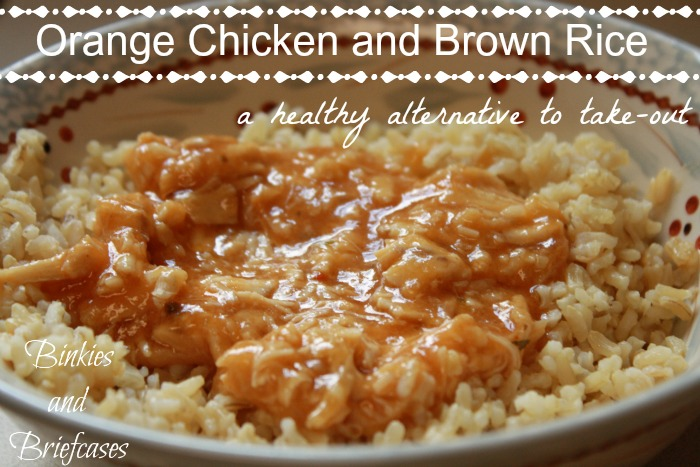 Healthy Orange Chicken Recipe
