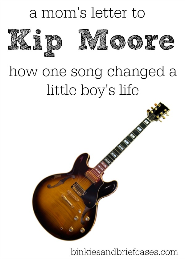 This is a very sweet story about how the song Hey Pretty Girl by Kip Moore touched the heart of a little boy who was struggling to understand his adoption.