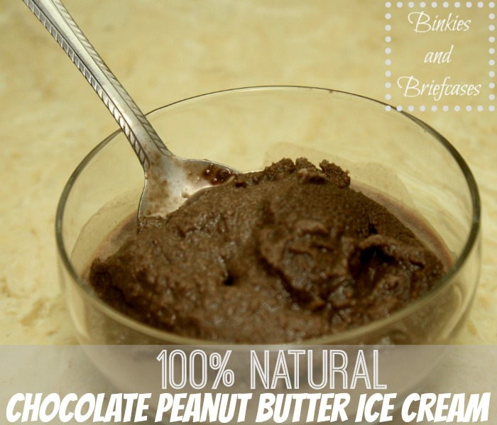 chocolate peanut butter icecream