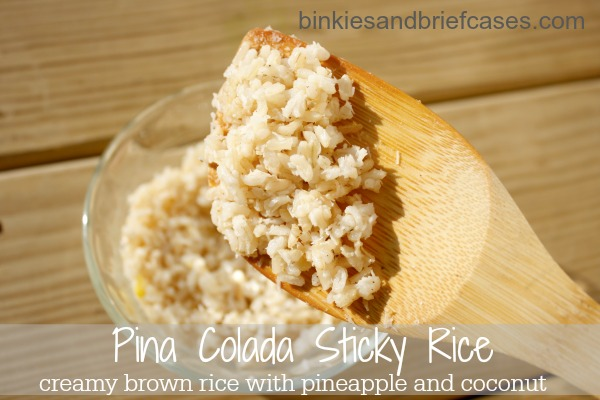 pina colada sticky rice recipe