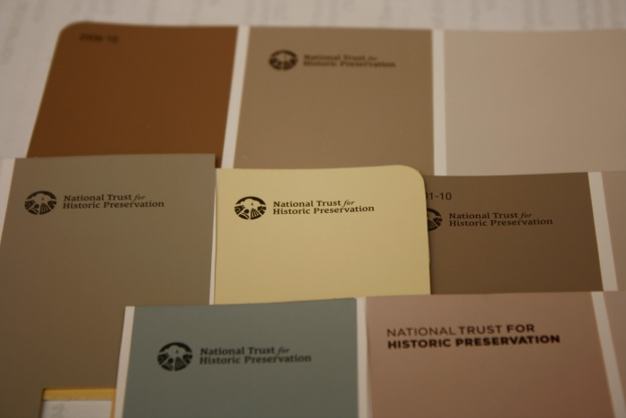 National Trust for Historic Preservation Paint Colors