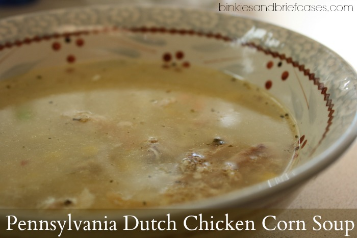 Pennsylvania Dutch Chicken Corn Soup Recipe