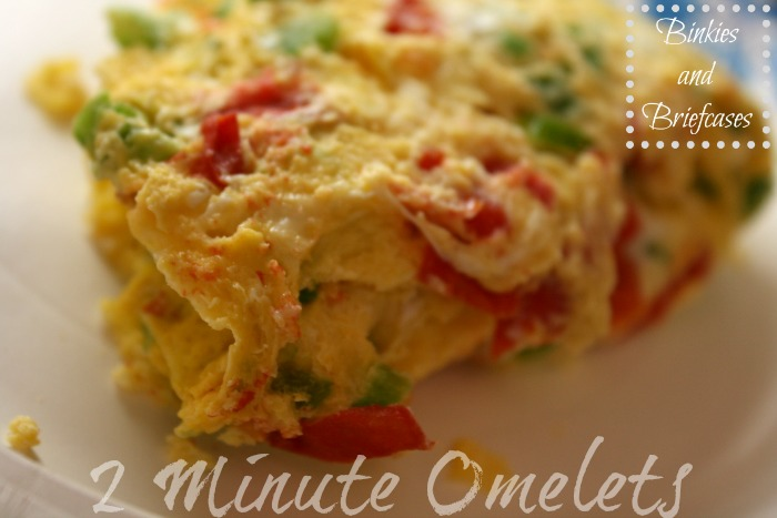 Two Minute Omelets