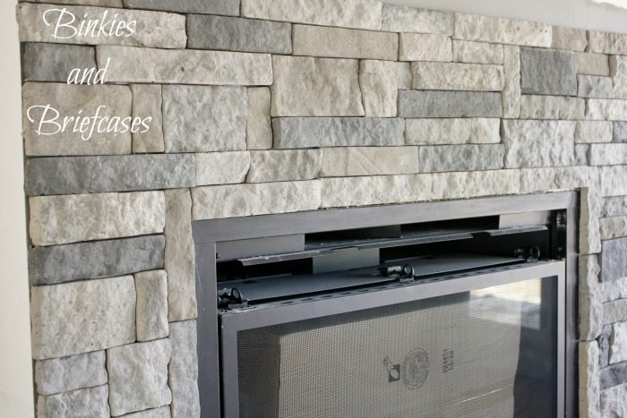 Marvelous Diy Stone Fireplace With Airstone Binkies And Briefcases Interior Design Ideas Inesswwsoteloinfo