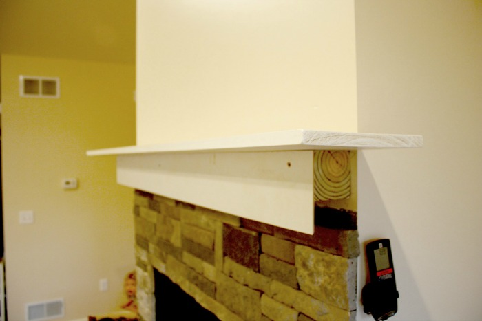 Diy Fireplace From A Few Boards