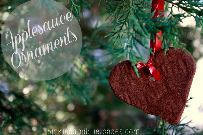 how to make applesauce ornaments