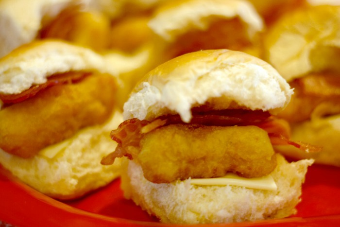 chicken bacon ranch sliders #shop
