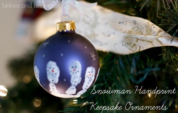 snowman keepsake ornaments