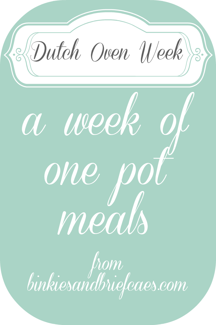 dutch oven week
