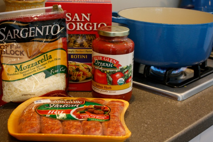 ingredients for Italian festival bake