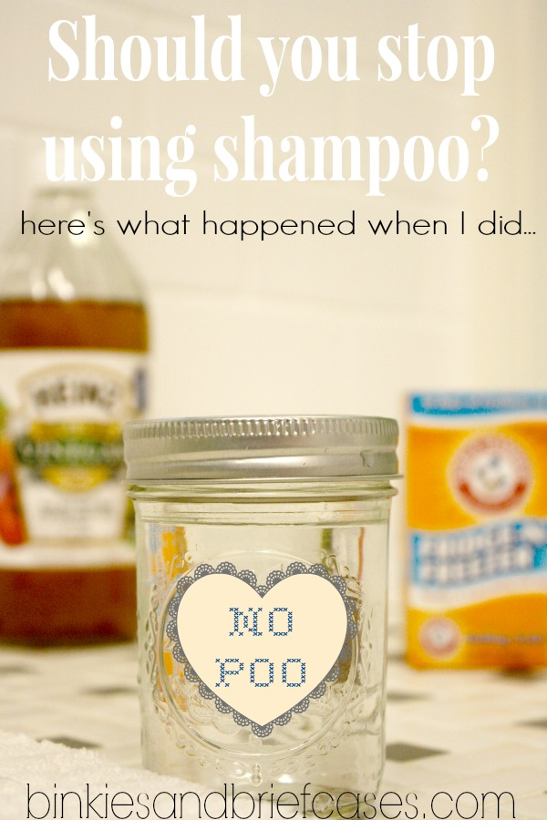 No poo homemade shampoo recipe