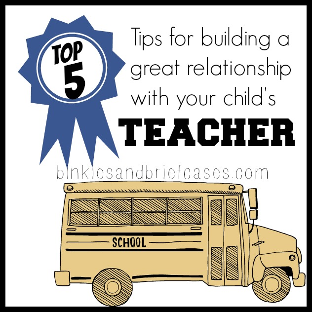 How to build a great relationship with a teacher