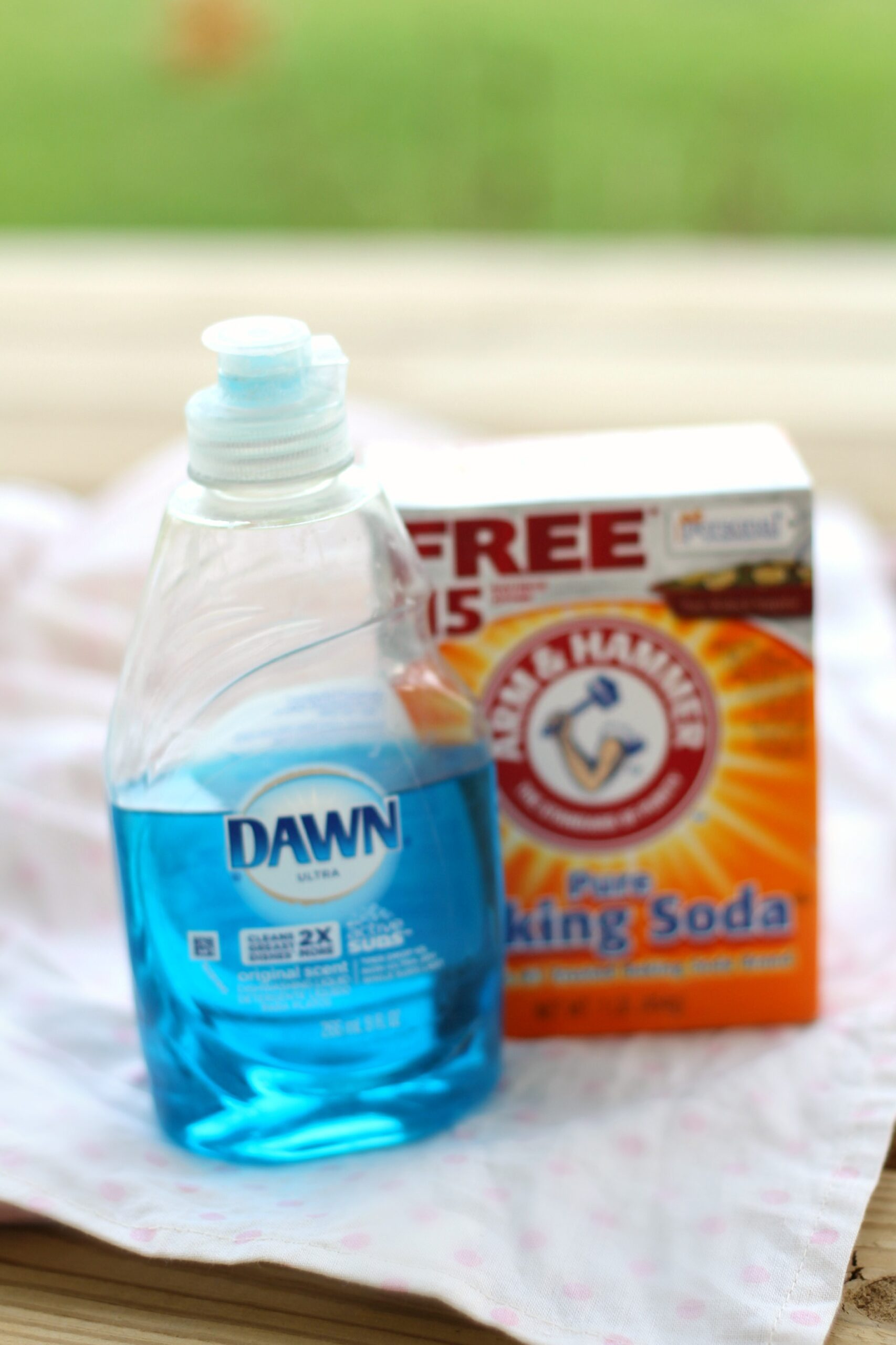 homemade dish soap