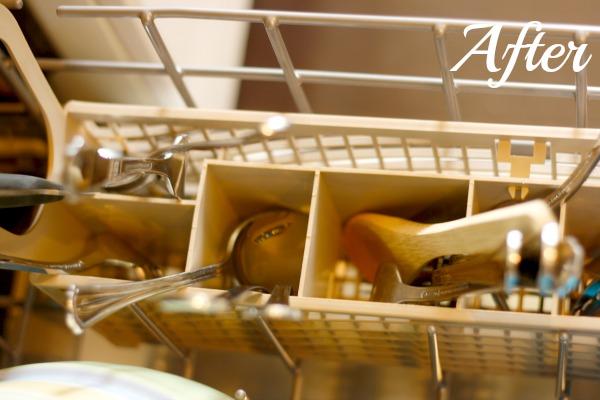 silverware after homemade detergent