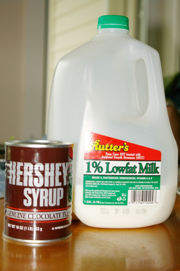ingredients for chocolate snowball
