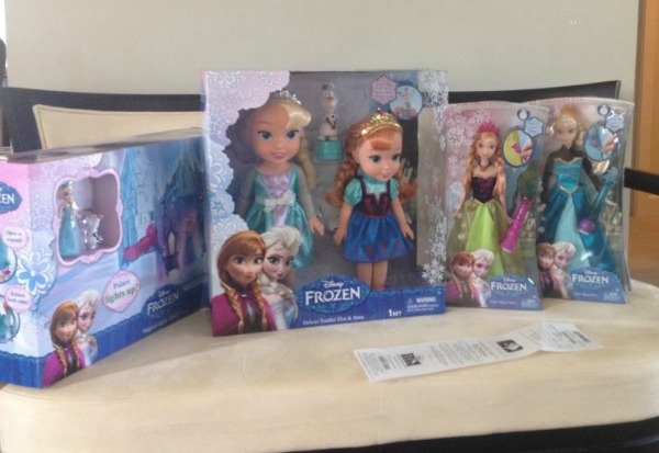 elsa doll and frozen toys
