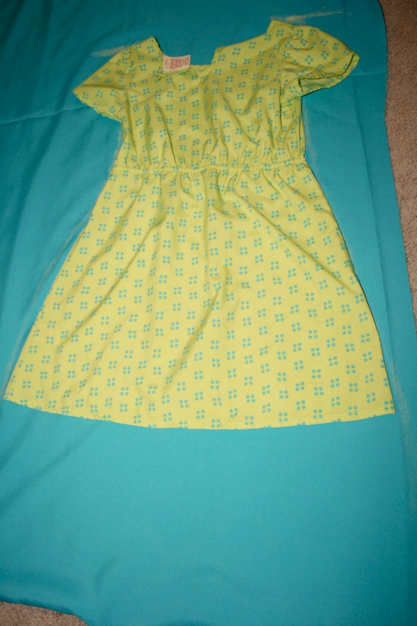 trace a dress