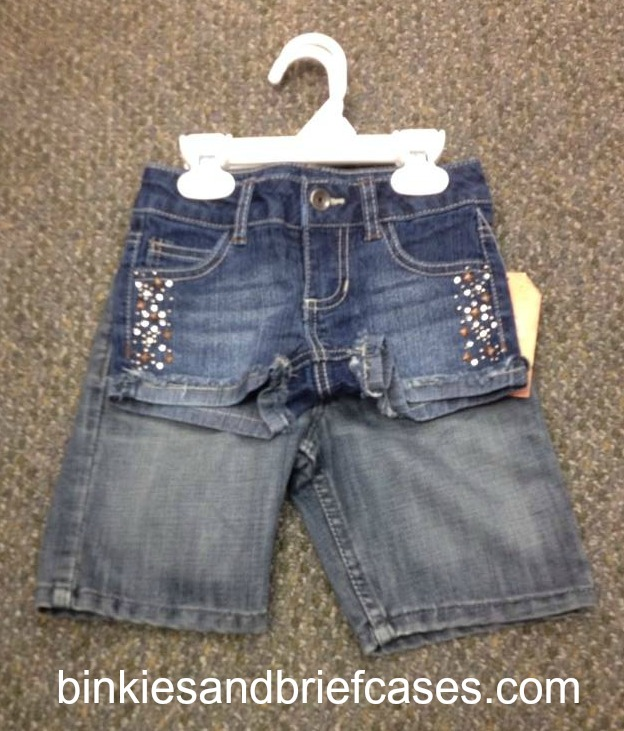 Girls' shorts are getting too short