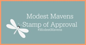 Modest Mavens Stamp of Approval
