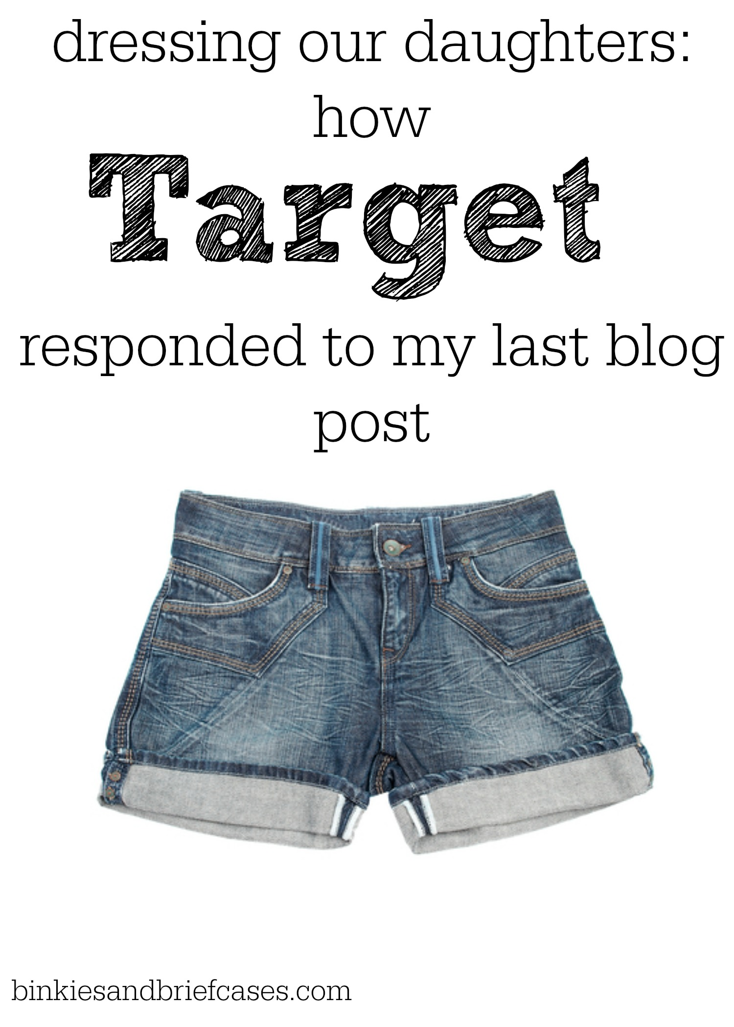 Dressing Our Daughters: How Target Responded to My Last Blog Post ...