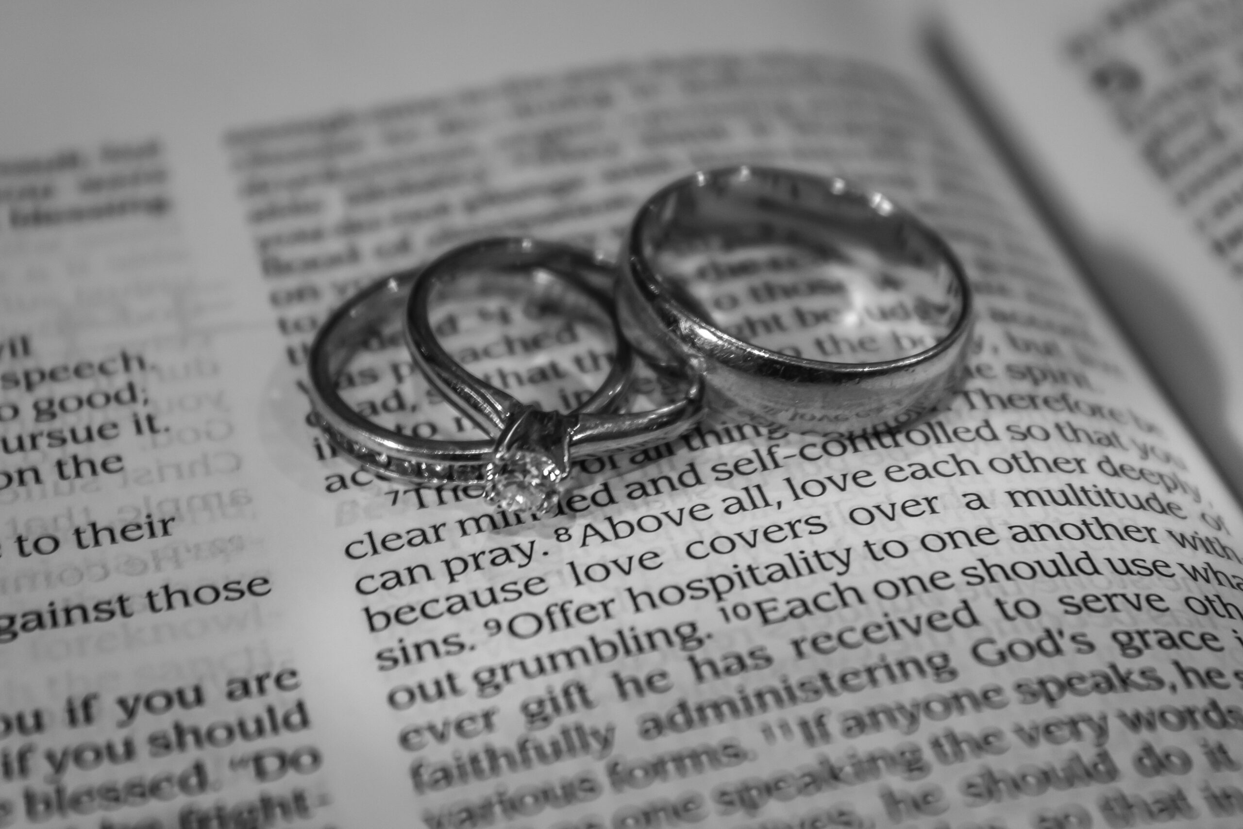 and scripture pictures bible rings wedding