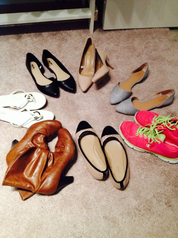 shoes for capsule wardrobe