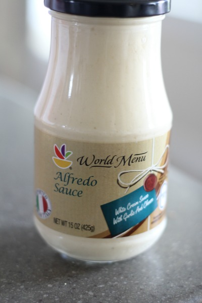 World Menu alfredo sauce
