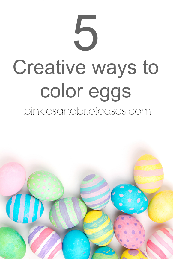 fun ways to color Easter eggs