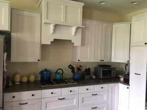 Build a wooden range hood with IKEA cabinets