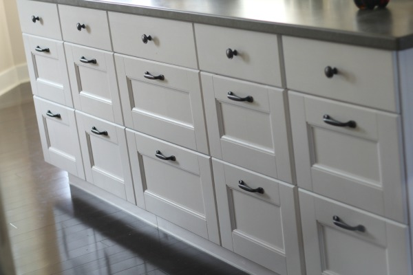 Ikea Island Cover Panel Installation ~ IKEA kitchen island • Binkies and Briefcases