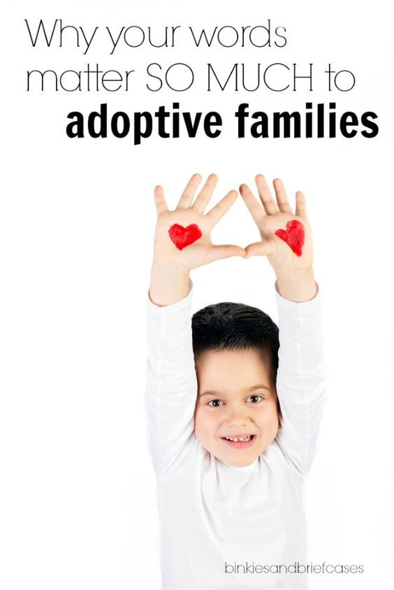 Why words matter to adoptive families