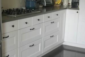 white IKEA cabinets