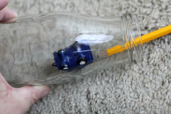 How to make a snowglobe in a bottle