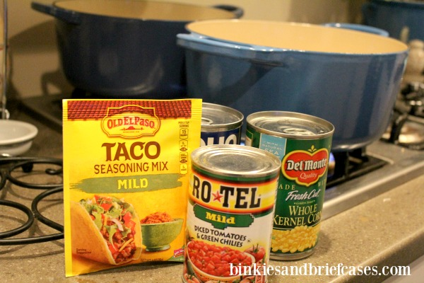 Easy chicken tortilla soup can be made in the crockpot or on the stove