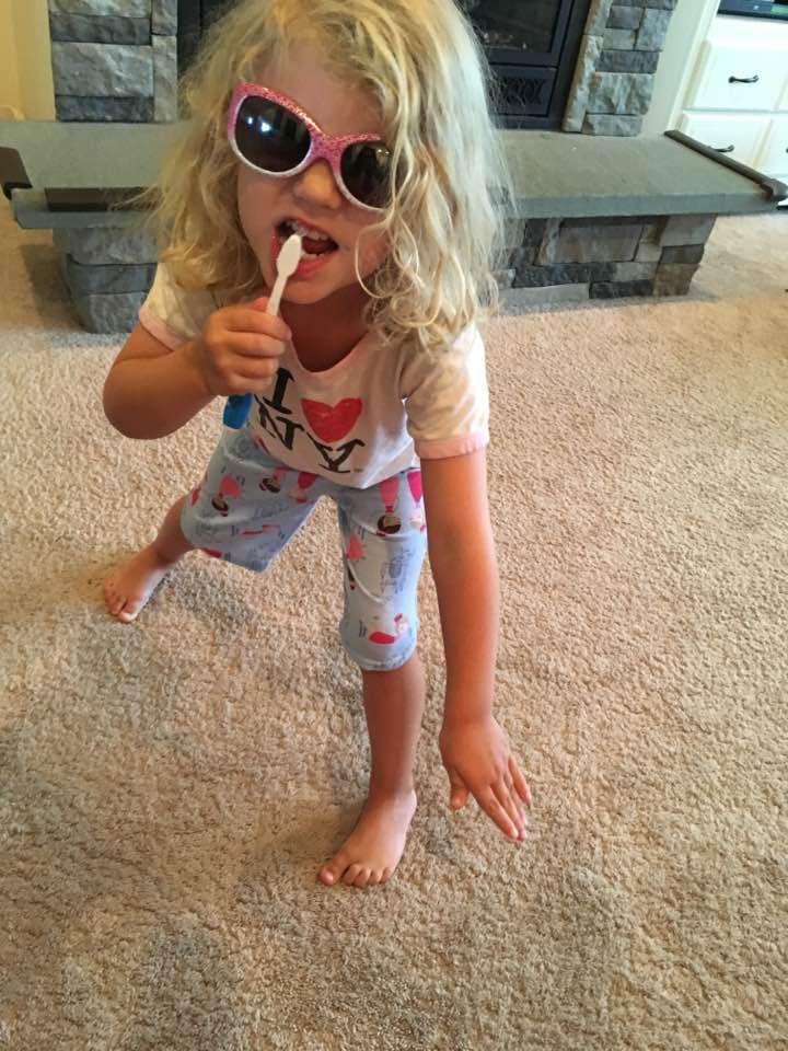 crazy bedtime routine