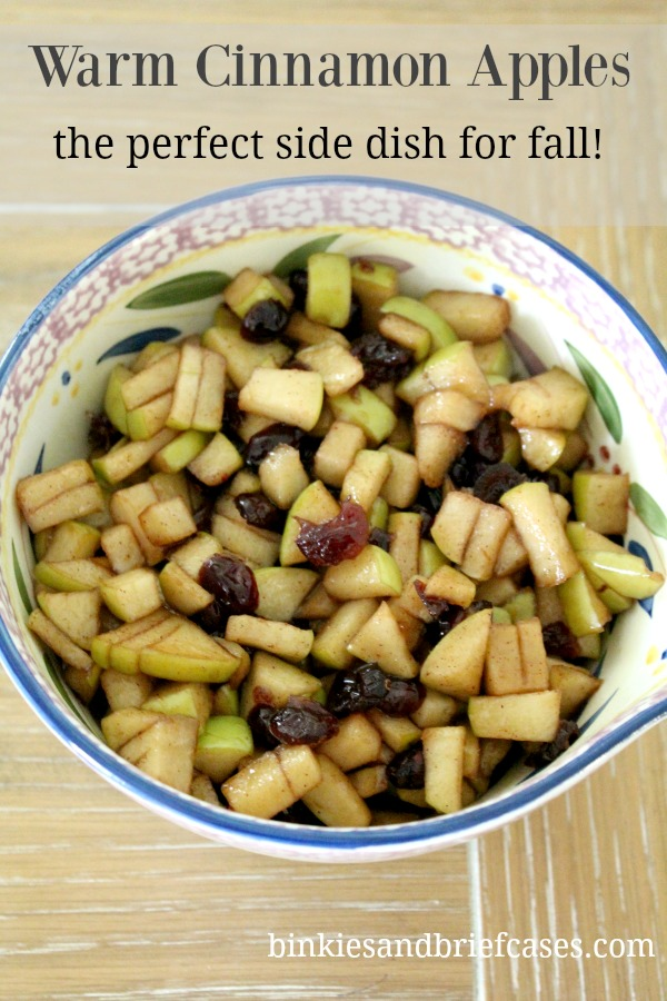 apple side dish for fall
