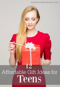 12 Affordable gift ideas for teens