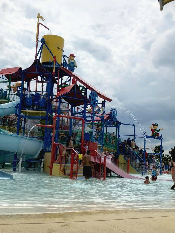 Waterpark at LEGOLAND in Orlando, Florida