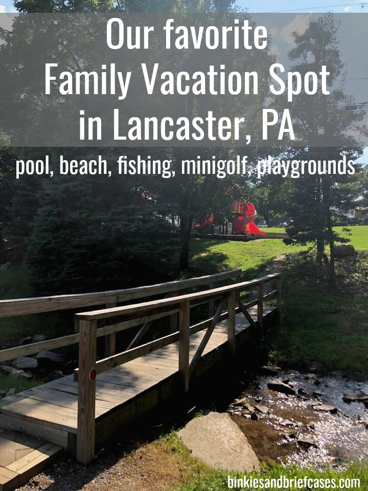 Spring Gulch is a family vacation resort in the Lancaster, PA area. #ad #PetiteRetreats