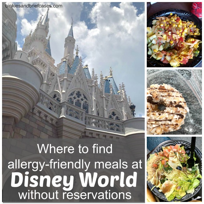 Where to eat at Disney World in Magic Kingdom if you have food restrictions or allergies