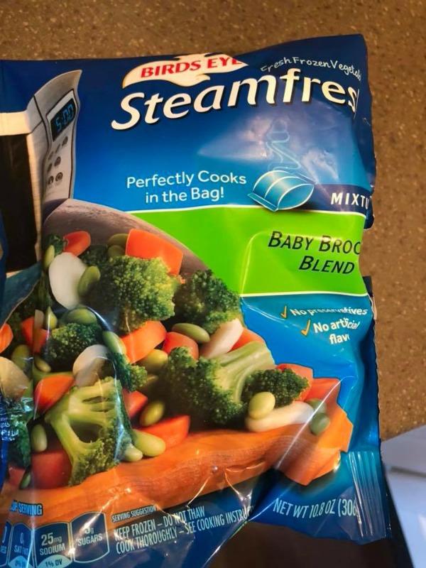 frozen broccoli blend for veggie fried rice recipe