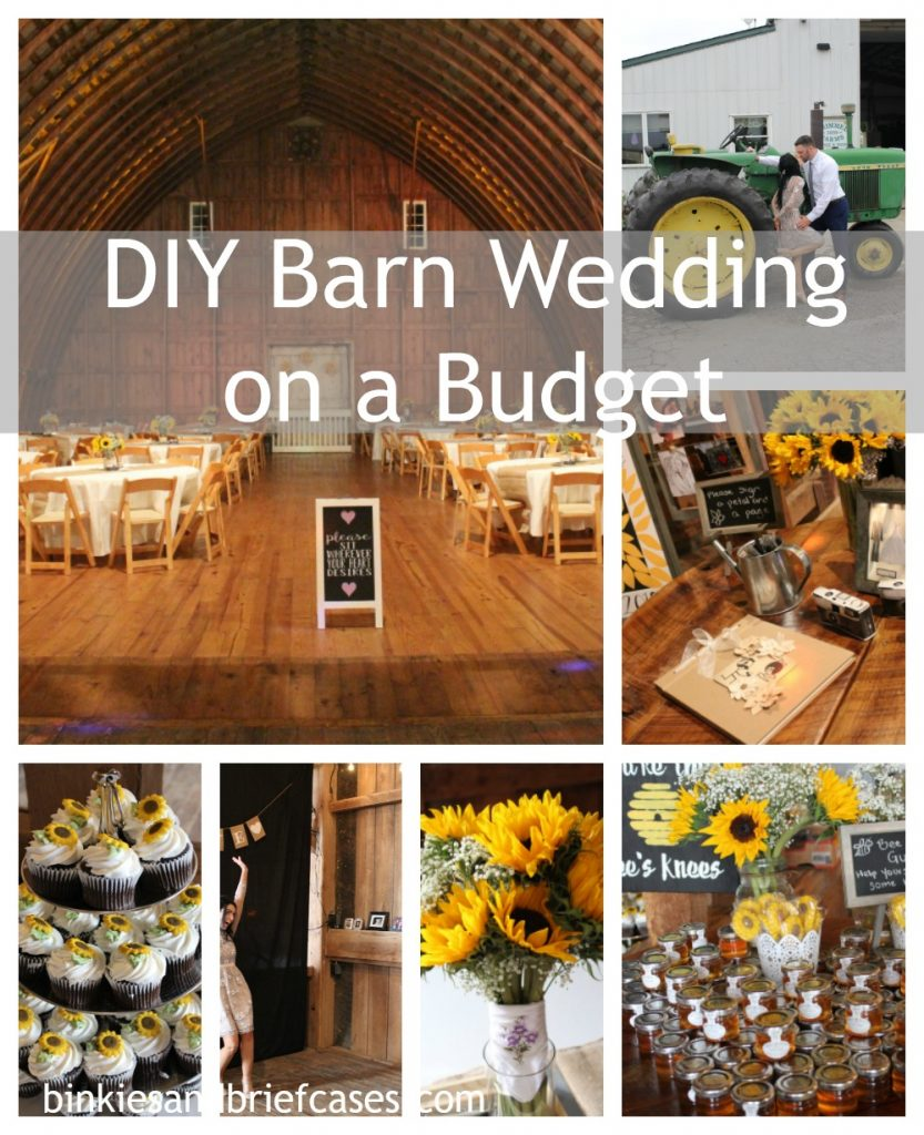 How to throw your dream sunflower themed barn wedding on a budget