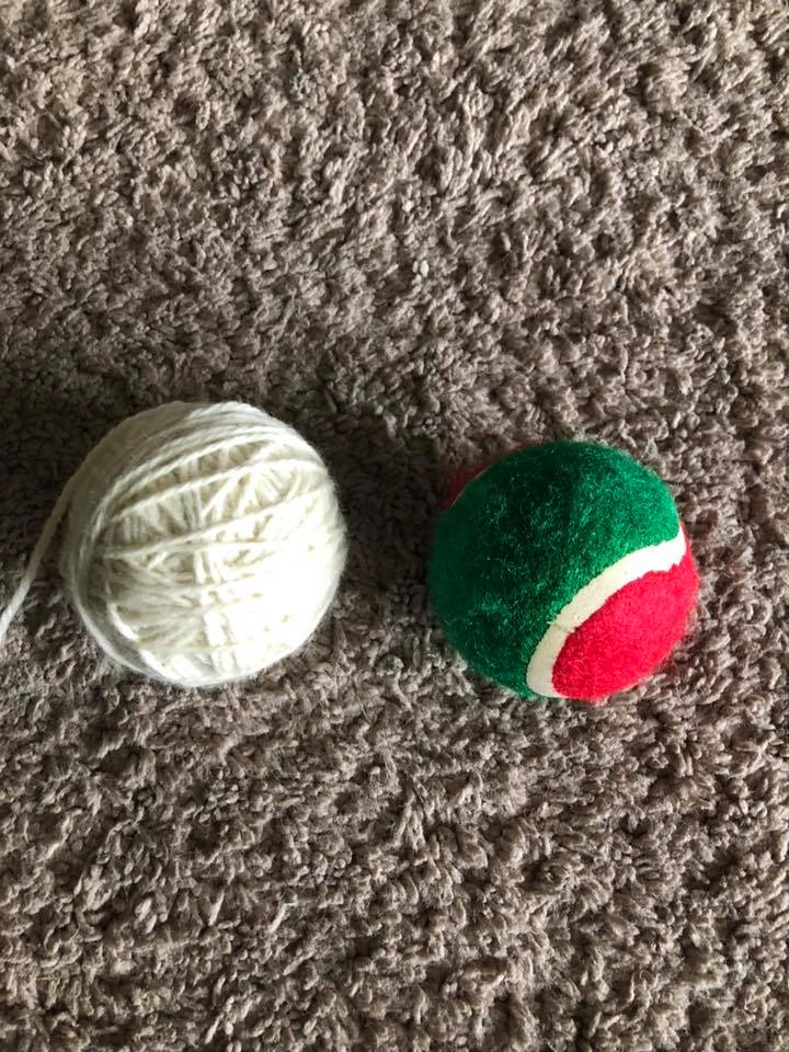 how to make reusable dryer balls
