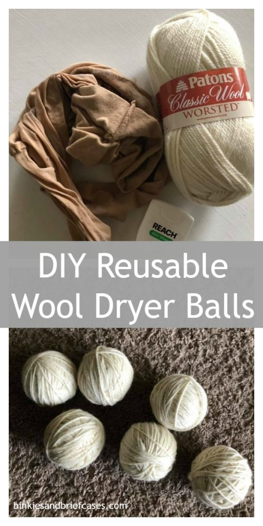 How to make your own wool dryer balls