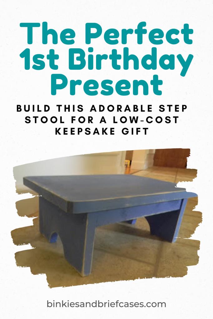 Step Stool Keepsake Gift