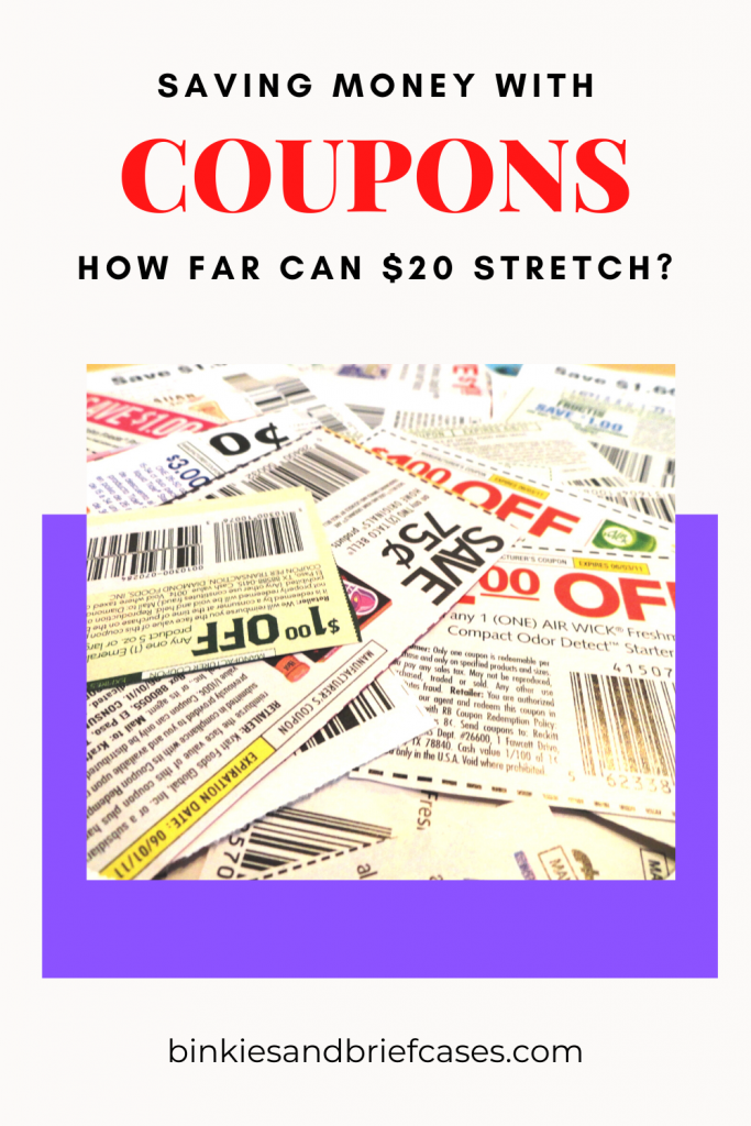 $20 Coupon Challenge Stretching $20
